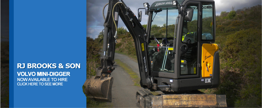 RJ Brooks & Son - Plant hire